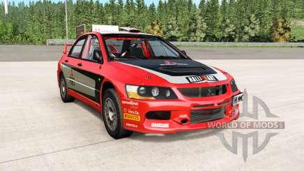 Mitsubishi Lancer Evolution IX 2006 remaster pour BeamNG Drive