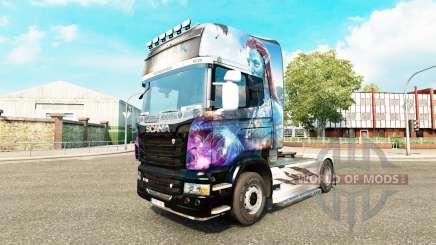 Avatar skin für Scania-LKW für Euro Truck Simulator 2
