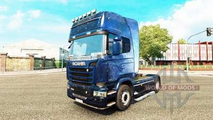 Haut-Kosmos auf der Zugmaschine Scania für Euro Truck Simulator 2