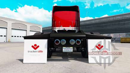 Une collection de garde-boue pour American Truck Simulator