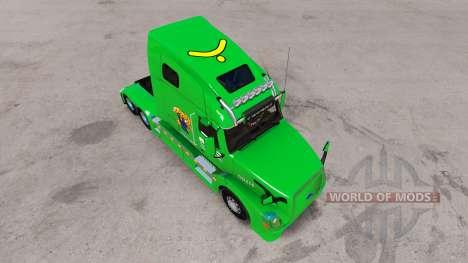 Boyd Transport skin für den Volvo truck VNL 670 für American Truck Simulator