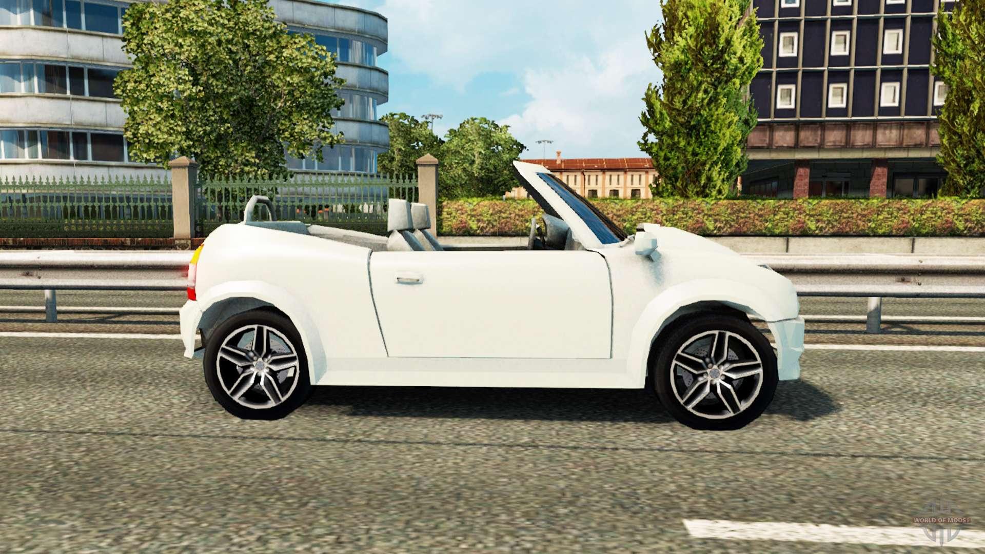 voiture de saints row pour le trafic pour euro truck simulator 2. Black Bedroom Furniture Sets. Home Design Ideas