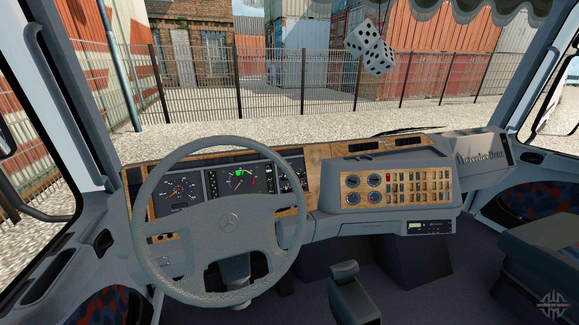 Mercedes benz actros 1843 mp1 pour euro truck simulator 2 for Mercedes benz euro