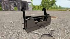 Der adapter für den Frontlader
