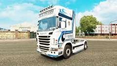 Hovotrans de la peau pour le camion Scania