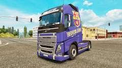 Barcelona-skin für den Volvo truck