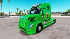 Boyd Transport de la peau pour les camions Volvo
