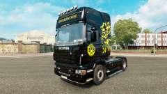 Borussia Dortmund skin für den Scania truck