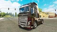 Ange de la peau pour Volvo camion