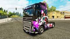 La peau de League of Legends sur un camion Volvo