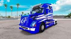 La peau de Première Classe sur les camions Volvo