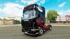 Faucheuse de la peau pour Scania camion