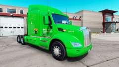 Boyd Transport de la peau pour le camion Peterbi