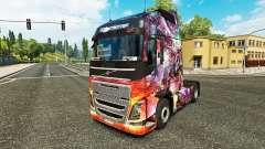 Princesse Dragon de la peau pour Volvo camion