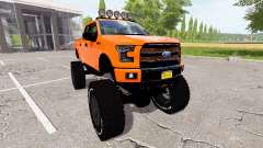 Ford F-150 Raptor lifted