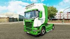 Haut Beelen.nl für Zugmaschine Scania