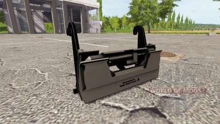 L'adaptateur pour chargeur frontal pour Farming Simulator 2017