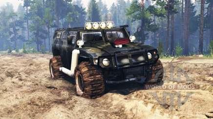 GAZ-2330 Tigr v0.3 pour Spin Tires