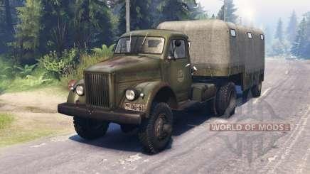 GAZ 63П pour Spin Tires