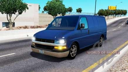 Chevrolet Express pour le trafic pour American Truck Simulator