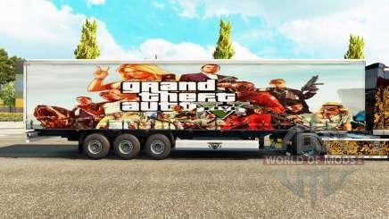 La peau GTA V trailer pour Euro Truck Simulator 2