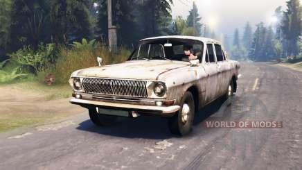 GAZ-24 Volga étoiles pour Spin Tires