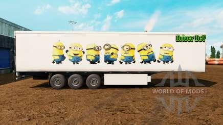 Haut Schergen auf den trailer für Euro Truck Simulator 2