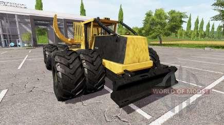 Tigercat 635E clambunk für Farming Simulator 2017
