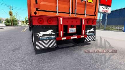 Mise à jour de la boue, des rabats de semi-remorques pour American Truck Simulator