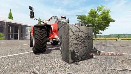 Adaptateur télescopique pour Farming Simulator 2017