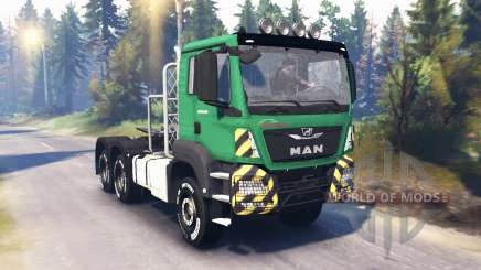 MAN TGS 26.480 v2.0 pour Spin Tires