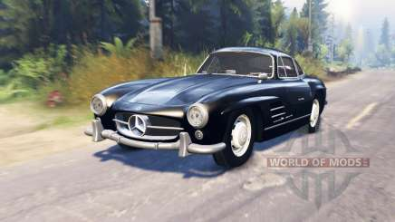 Mercedes-Benz 300 SL (W198) pour Spin Tires