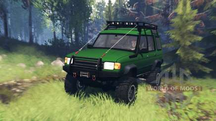 Land Rover Discovery v5.0 für Spin Tires