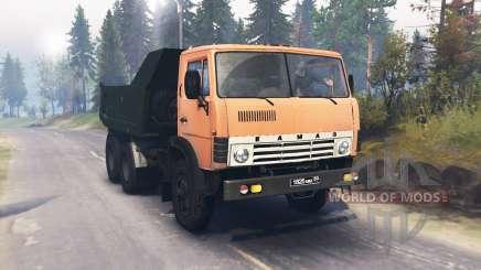 KamAZ-55111 für Spin Tires