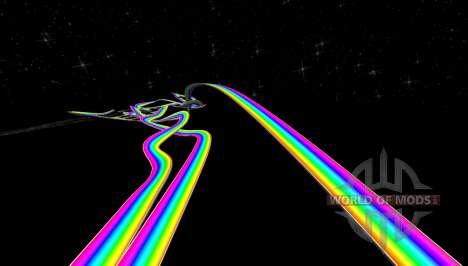 Route arc-en-ciel pour BeamNG Drive