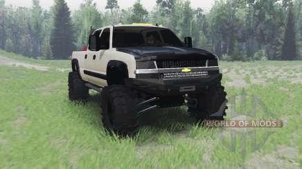 Chevrolet Silverado 2003 pour Spin Tires