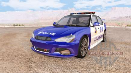 Hirochi Sunburst chinese police v2.0 pour BeamNG Drive