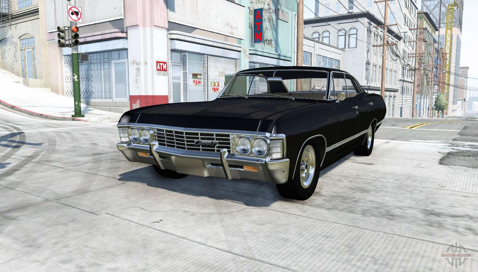 chevrolet impala 1967 pour beamng drive. Black Bedroom Furniture Sets. Home Design Ideas