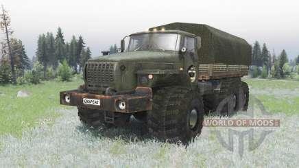 Personnalisé Ural 4320 off-road pour Spin Tires