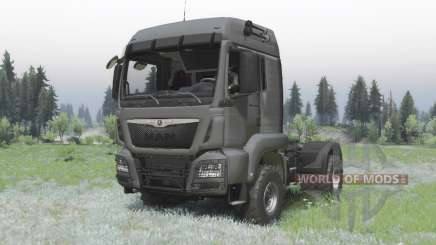 MAN TGS 18.440 4x4 v1.2 pour Spin Tires
