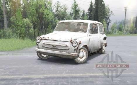 ZAZ 965 Zaporozhets de Avec. T. Et. L. De. E. R. pour Spin Tires