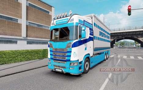 Scania S Tandem Spedition Hohner pour Euro Truck Simulator 2