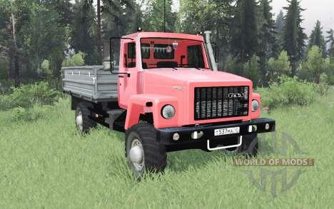 2506 GAZ SAZ pour Spin Tires