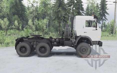 KamAZ 54115 6x6 pour Spin Tires