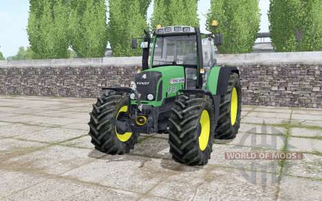 Fendt 820 Vario TMS choice wheels pour Farming Simulator 2017