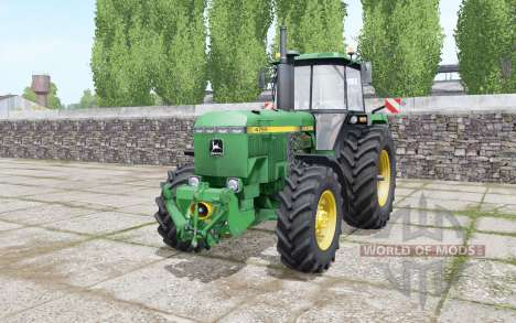 John Deere 4755 double wheels pour Farming Simulator 2017