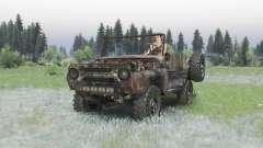 UAZ 469 rouillé
