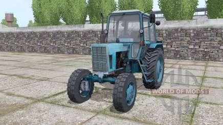 MTZ 80 Biélorussie tracteur avec chargeur frontal pour Farming Simulator 2017