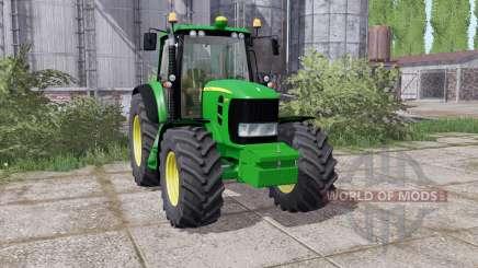 John Deere 7430 Premium 2007 washable für Farming Simulator 2017