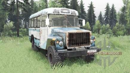 KAvZ 39766 Sadko 2003 für Spin Tires